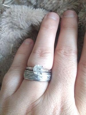 White gold 1 carat diamond solitaire for Sale in Cullen, VA