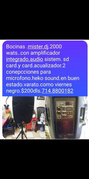 Bocinas sub wofer..2000 wats.. for Sale in Anaheim, CA