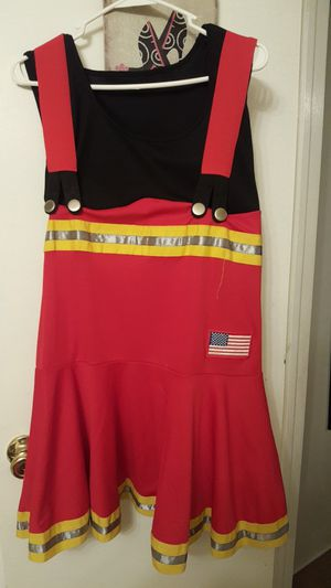 New Plus size fire girl Halloween costume for Sale in Dallas, TX