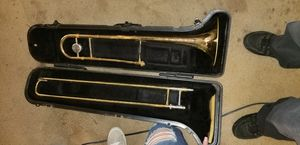 Bach trombone and case. for Sale in Tyler, TX