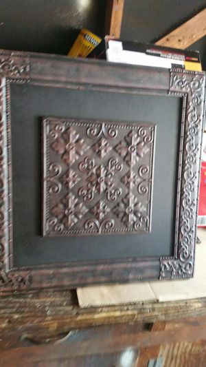 Metal wall decor for Sale in Missouri City, TX