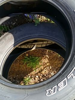 275/55/20 White Letter Tires 60 Percent Tread Life for Sale in Damascus,  OR