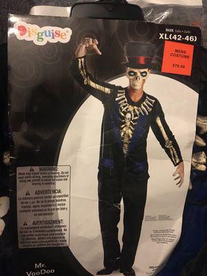 Halloween men's costume Mr VooDoo XL new for Sale in Mentor, OH