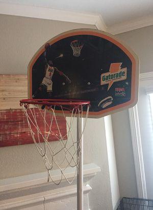 Jordan basketball hoop. 6ft. Gatorade. for Sale in Dallas, TX