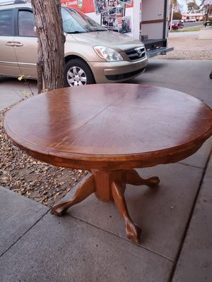 Wood Dining Table for Sale in Mesa, AZ