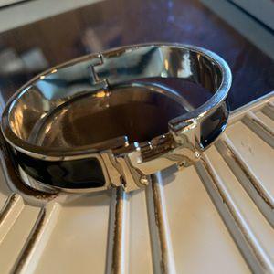 Women's clic clac H black enamel bracelet for Sale in Tracy, CA