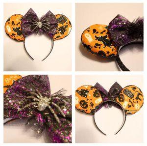 Orange Disney Halloween Minnie Ears for Sale in San Jose, CA