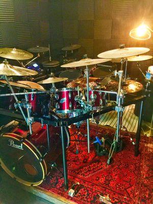 Pearl 7 piece Export series custom drum kit for Sale in Encinitas, CA