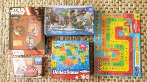 5 Games New + Sealed! for Sale in Gaithersburg, MD