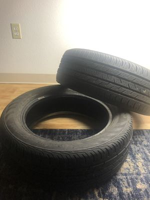 Toyota corolla tires(2) for Sale in Denver, CO