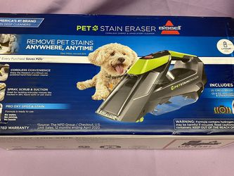 Brand New Bissell Pet Stain Eraser Cordless Portable Carpet Cleaner! for Sale in Los Angeles,  CA