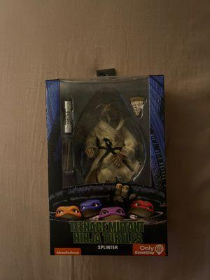 Master splinter neca figure for Sale in Sacramento, CA