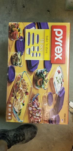 Brand new pyrex bakeware 18 piece for Sale in Stockton, CA