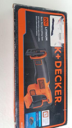 black & decker saw 20 v for Sale in Wheeling, IL