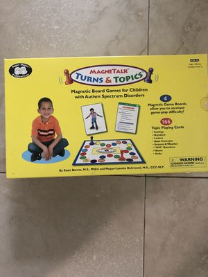 Board game for children with ASD for Sale in Hollywood, FL
