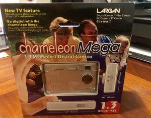 LARGAN CHAMELEON MEGA 4-IN-1 DIGITAL CAMERA 1.3 MGPXL-NEW IN BOX COMPLETE SET for Sale in Affton, MO