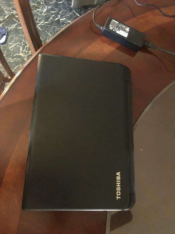 Windows 10 laptop TOSHIBA