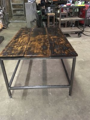Custom oak coffee table for Sale in Marengo, OH