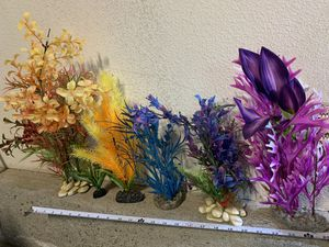 Artificial plants for fish tank / aquarium for Sale in San Diego, CA