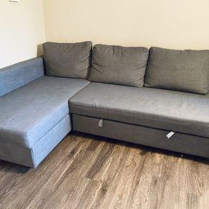 IKEA FRIHETEN sectional sleeper couch w/ storage for Sale in Bellevue, WA