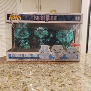 Funko Pop Haunted Mansion 3 Pack Gus Phineas Ezra Disney for Sale in Orange, CA