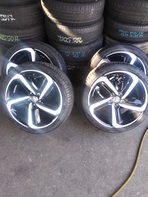 VENDO RINES PARA HONDAS ESTAN SEMI NUEVOS. ZAIZ 19. 5X114.3 for Sale in UNIVERSITY PA, MD