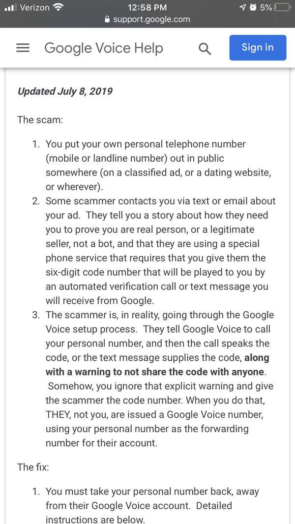 Beware Of This Scam