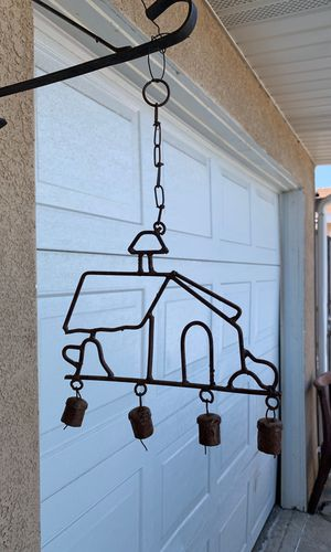 Thick metal house wind chime for Sale in Anaheim, CA