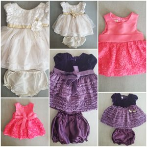 Three 6-months formal baby girl dresses for Sale in Phoenix, AZ