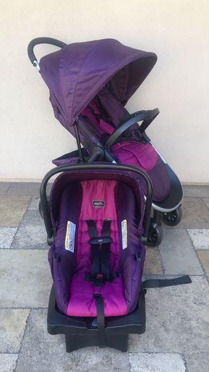 EVENFLO MAESTRO BABY STROLLER AND CAR SEAT for Sale in San Bernardino, CA