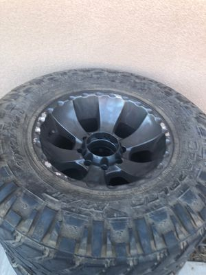 Rims and tires off for Sale in Clovis, CA