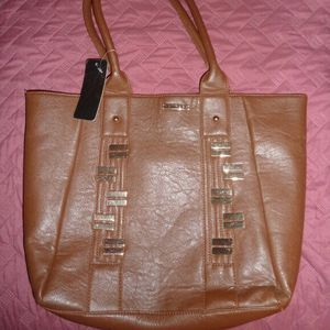 Rampage Brown Embellished Tote Bag, NWT for Sale in Northumberland, PA