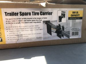 Spare tire holder for trailers 4/5 lug for Sale in Vallejo, CA