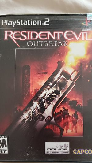 Resident evil outbreak ps2 $15 for Sale in Jersey City, NJ