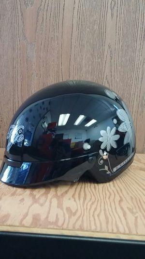 HJC IS-2 Flora MC5 Black Half Motorcycle Helmet Medium for Sale in Signal Hill, CA