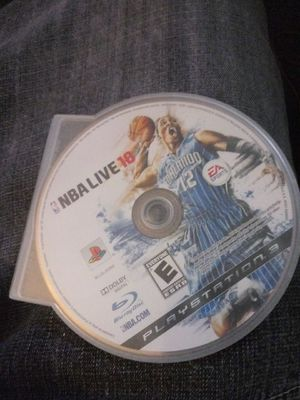 NBA live 10 ps3 for Sale in Newark, CA
