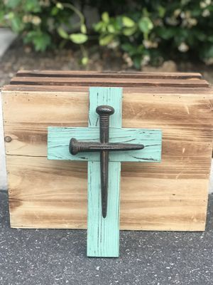 Cross Wall Hanging, Home Decor for Sale in San Dimas, CA
