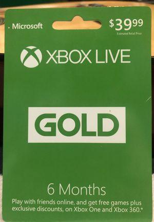 Xbox live for Sale in Riverside, CA