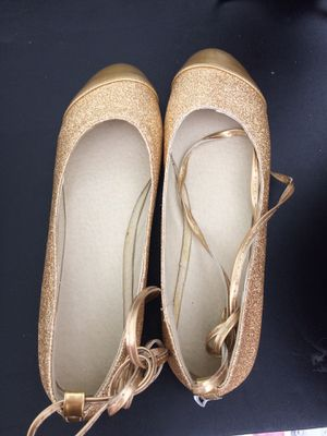 Gold Flat shoes for Sale in Manassas, VA