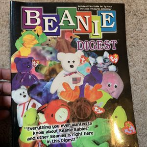 Collectible Beanie Baby Digest Book for Sale in Akron, OH