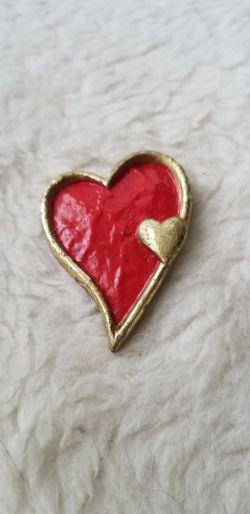 Heart Shaped Brooch/Pin for Sale in St. Petersburg,  FL