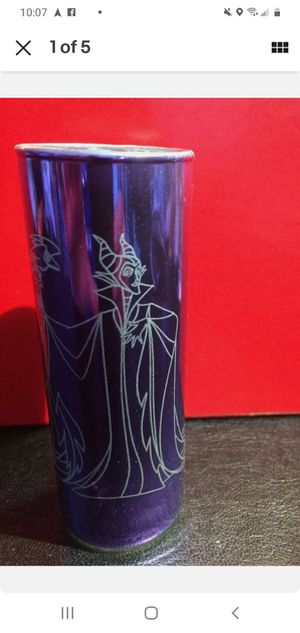 Maleficent Disney Parks Sleeping Beauty Tall Shot Glass RARE FIND vintage for Sale in Reidville, SC