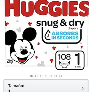 /Diapers Size /Pañales 1 $25 for Sale in Los Angeles, CA