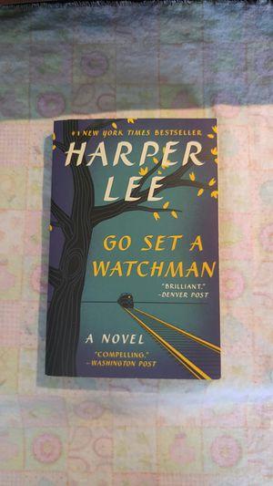 Go set a watchman by Harper Lee for Sale in Kalamazoo, MI
