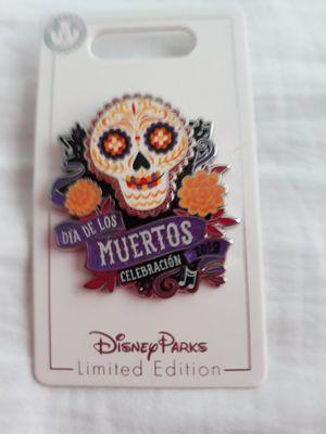 Coco Disney Pixar Dia de los Muertos Skull Pin for Sale in Celebration, FL