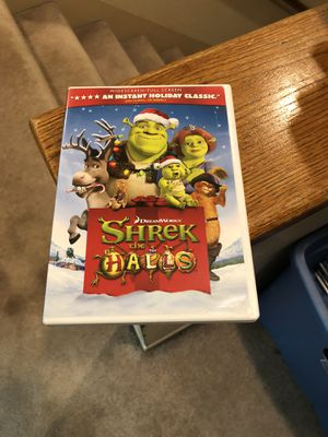 Shrek The Halls DVD Christmas Movie 2007 Mike Myers Cameron Diaz dreamwork donkey for Sale in Buena Park, CA