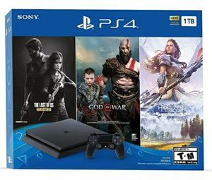 PS4 Slim 1TB.. 3 Game Bundle.. Brand New, Sealed. I bought it directly from PlayStation Network. for Sale in Fort Washington, MD