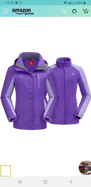 CAMEL CROWN Women's Ski Jacket Waterproof 3 in 1 Winter Jacket Windproof Warm Fleece Hooded Snowboard Mountain Snow Coat for Sale in Las Vegas, NV