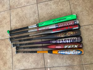Baseball bats Sizes 30-34 for Sale in Los Angeles, CA