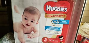 Huggies size 2 for Sale in Palm Harbor, FL
